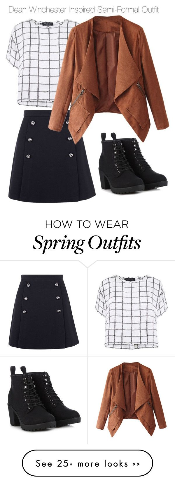 """Dean Winchester Inspired Semi-Formal Outfit"" by staystronng on Polyvore"