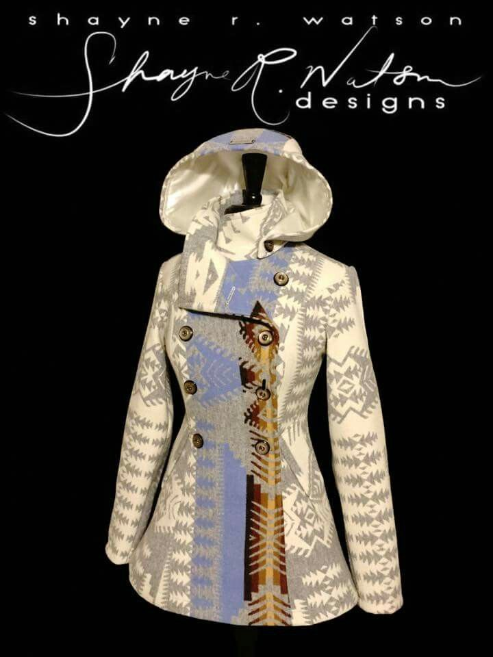 Custom made jacket for Carly Ortega by Shayne Watson Designs . He is a very young, talented designer. Thank you so much! I am in love with this jacket.