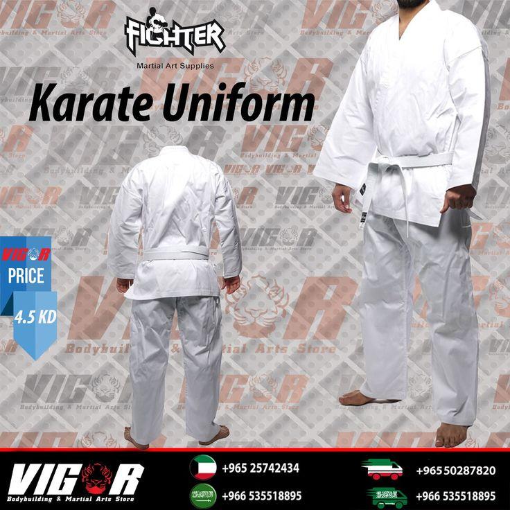 Fighter karate uniform ممتازة جدا للتدريب او المنافسة خفيفة الوزن  تؤمن لك التهوئة وتشعرك بالراحة .  Excellent choice for training or competition , lightweight , ensures best temperature and offers you the best comfort  افضل المنتجات وباسعار تنافسيه #karate #bjj #ufc #bodybuilding #workout #fitness #vigor #vigorsport #sixpac #mma #boxing #kyokushin_kan #judo #karate_uniform #wkf  #رشاقه #بطولة #تدريب #عضلات #حميه #تخسيس #صحة #جوجيتسو #ملاكمة #رياضه  #لياقه #فتنس #كيوكوشن #كاراتيه