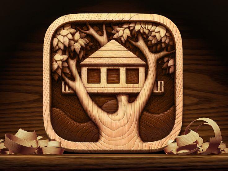 Treehouses app icon  by Artua