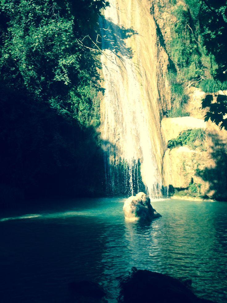 Waterfall Kalamaris-Gialova-Messinia-Peloponnesus