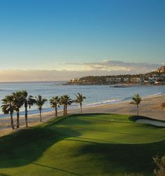 Palmilla Golf Club - San Jose del Cabo, MX. Visit http://www,ezlinks.com/mexico for discount tee times in Los Cabos and other parts of Mexico such as La Paz and Cancun. A verdant oasis on the tip of the Baja Peninsula. Where azure waters greet the mountainous desert and the Pacific Ocean merges with the Sea of Cortez. Where warm waves break onto a dramatic shoreline… and gray whales can be seen rising majestically in the distance. #LosCabos #Golf