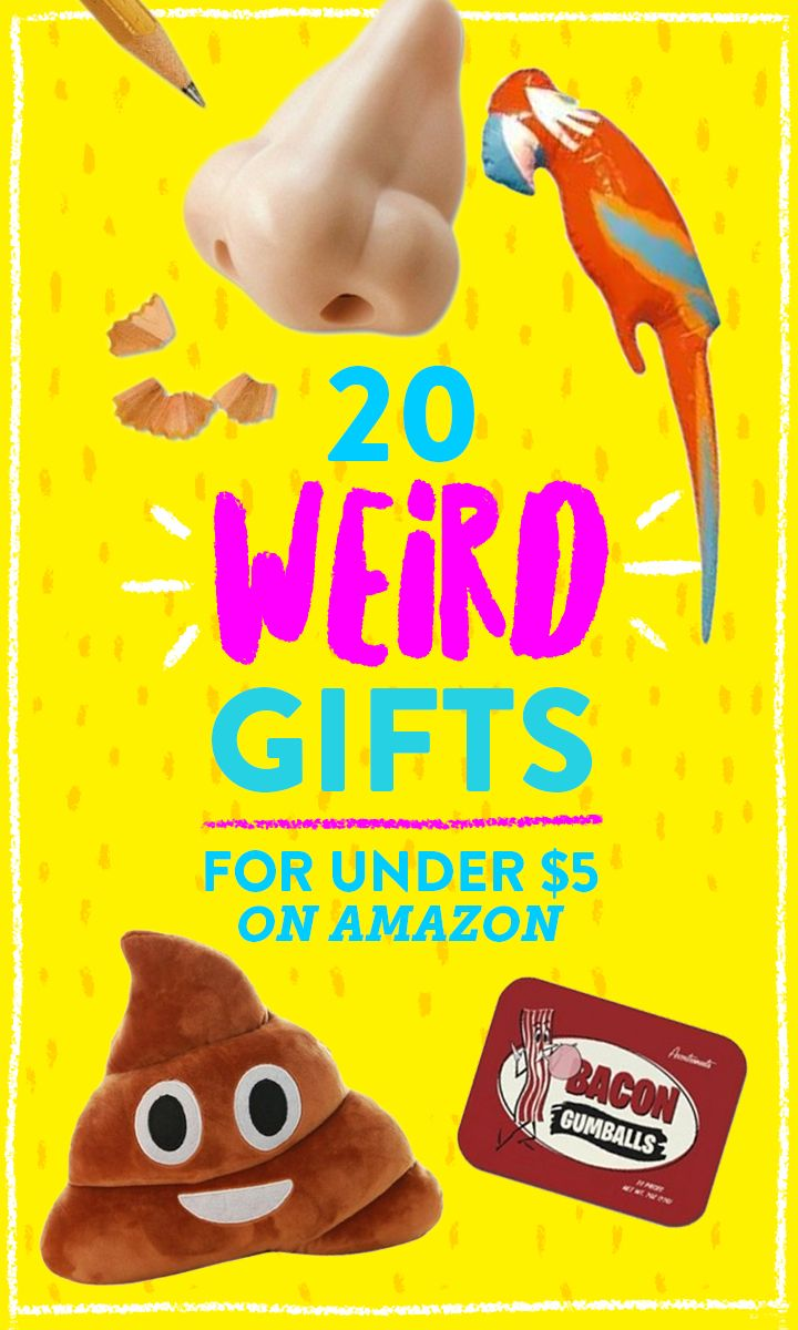 20 bizarre gifts under 5 on Amazon To be, Funny and Gifts