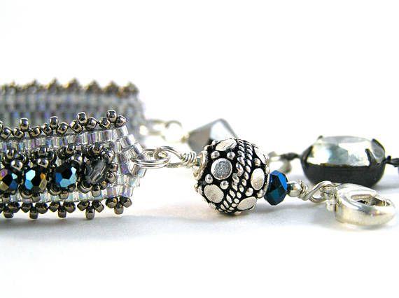 Katherine The Great Bracelet  Beadweaving  Swarovski