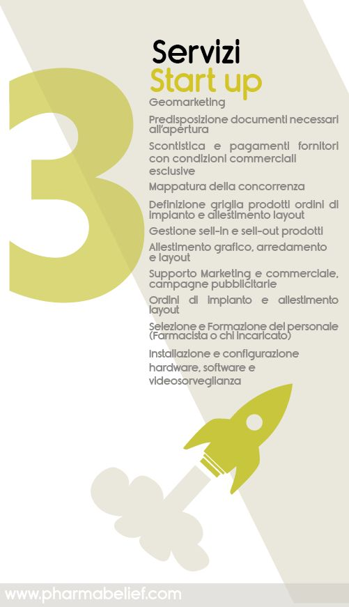 Servizi Start Up http://www.pharmabelief.com/