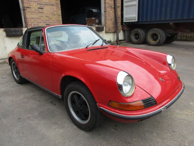 1971 Porsche 911 Targa ex Texas  // Carshipping by Interfracht - since 1972