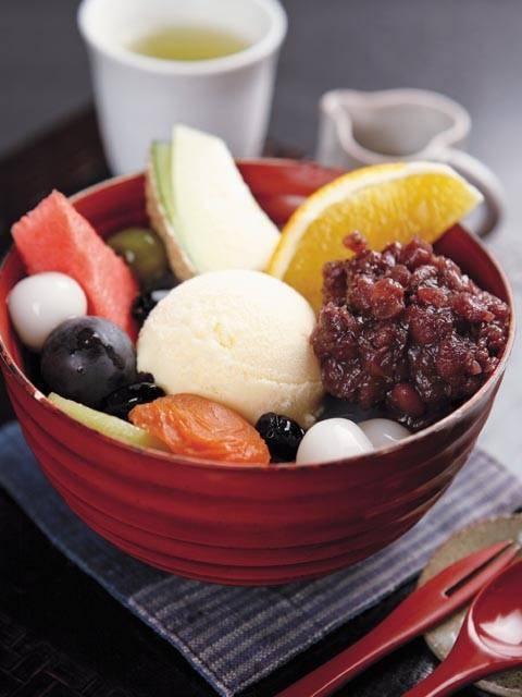 Japanese dessert dish ...