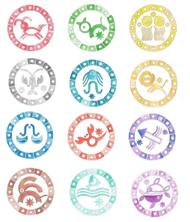 Colors And Zodiac On Pinterest