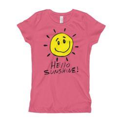 Hello Sunshine! Girl's T-Shirt