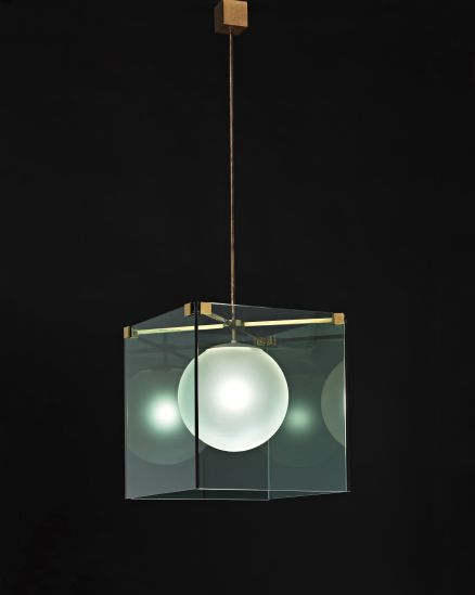 PHILLIPS : UK050111, Max Ingrand, Large chandelier, model no. 2073