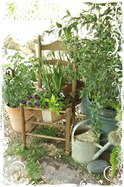 Leuk hoekje voor in de tuin