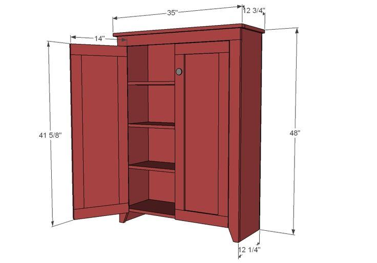 Free Standing Linen Cabinet Plans Woodworking Projects