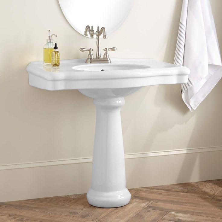 Carden+Porcelain+Pedestal+Sink