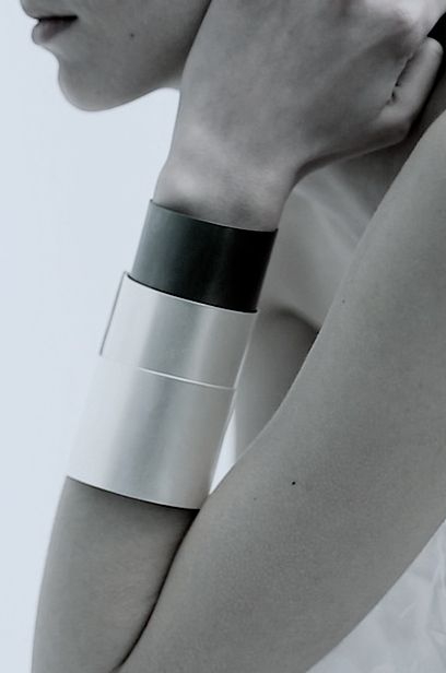 | DETAILS | #oddstudio | movement #dynamics collection | for the woman who can appreciate a little arm candy, love a bold yet minimalist accessory to show off the forearm #gaileguevara #loves #goodarmcandy