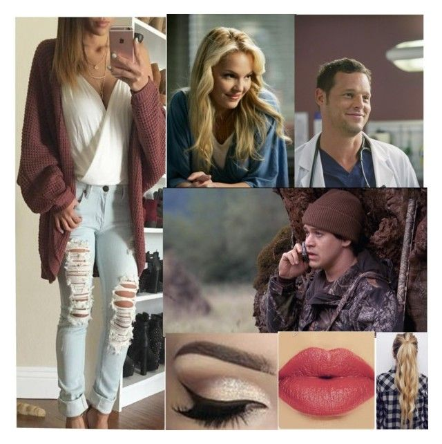 """""""""""Dr.Model"""" -Izzie (RTD$"""" by the-walking-dead-and-wwe-lover ❤ liked on Polyvore featuring Grey's Anatomy"""