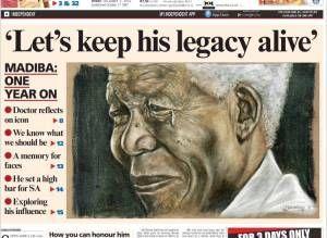 Mort Nelson Mandela