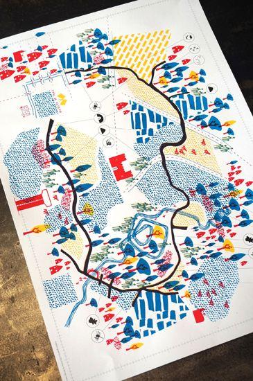 maps / carte by l'Atelier du Bourg (France, Re…
