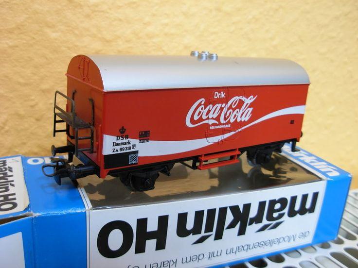 Rare Coca Cola Items | Details about MARKLIN 4534 DSB Wagon COCA COLA Danmark RARE