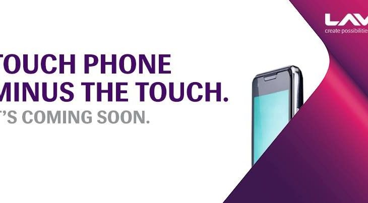 A touch phone that's handsfree by Lava. Coming Soon.