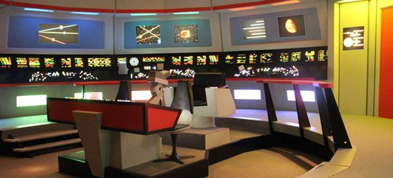 Star Trek Las Vegas TOS Bridge <--- SERIOUSLY, IS THIS REAL???!!!