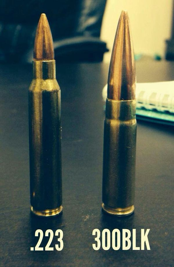 How do I differentiate between bullet sizes?