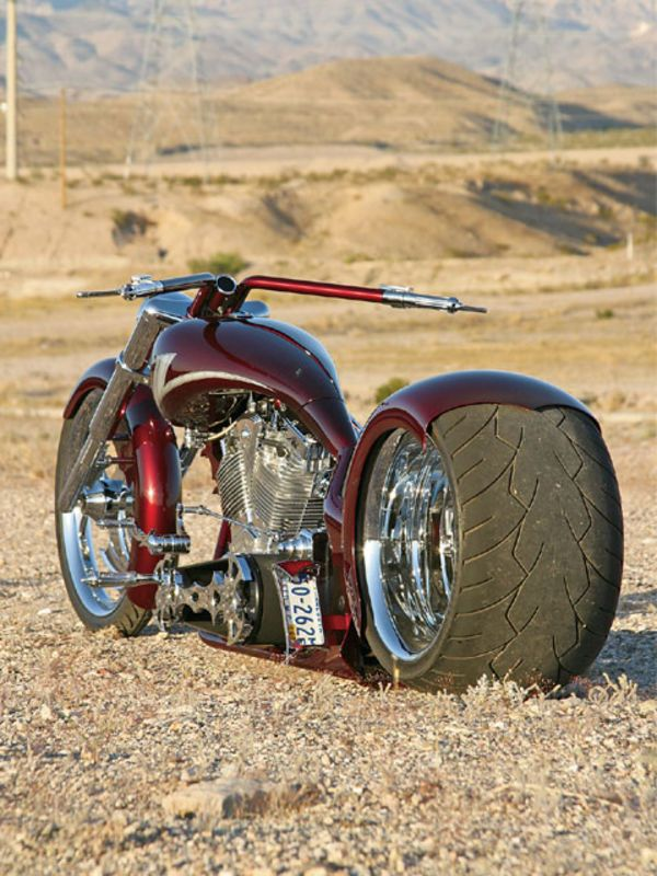 2006 Outlaw Customs Pro Street Motorcycle - Kicking Down the Love ...