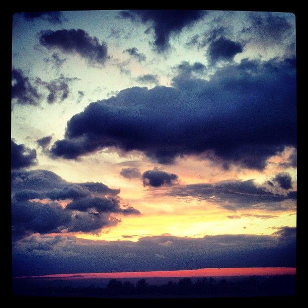 Cagliari Clouds sunset #instagram #weather #metwit