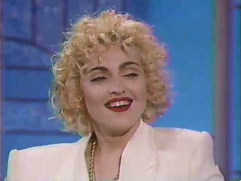 Madonna on the Arsenio Hall Show (1990, full original appearance)