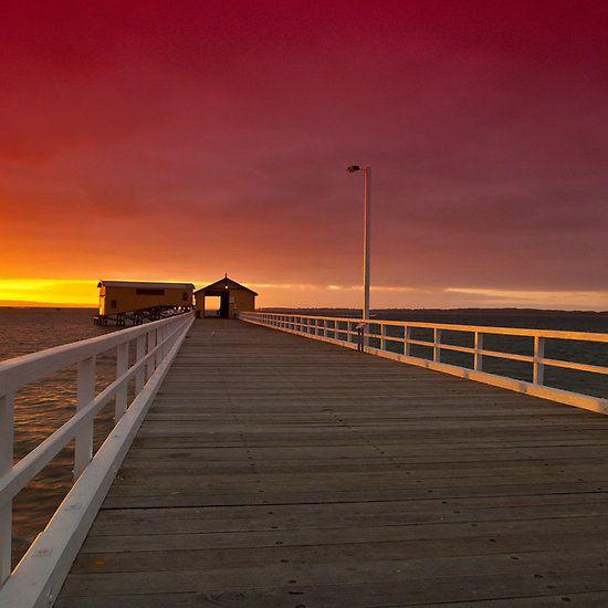 Queenscliff Pier Sunrise