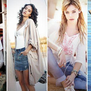 MODA 2016: RAPSODIA PRIMAVERA VERANO 2016.  Impecable como siempre la propuesta de moda primavera verano 2016  de la reconocida marca arg...