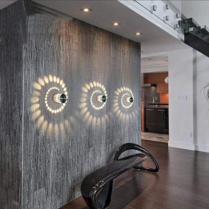 Eclairage Mural En Spiral Parement Mural Applique Murale Interieur Interieur Led