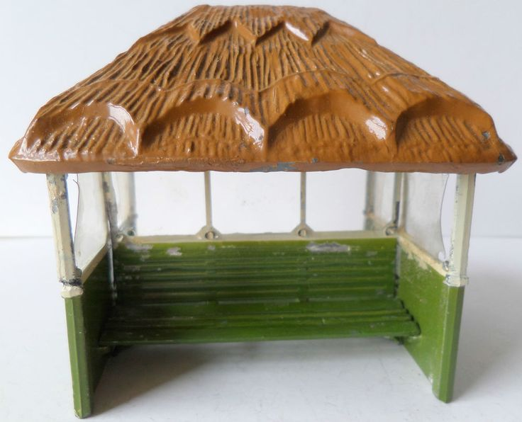 BRITAINS PRE-WAR PAINTED LEAD BOXED No28mg GARDEN SHELTER COMPLETE SET in Toys & Games, Toy Soldiers, Britains | eBay