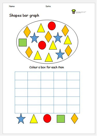 bar graph kids shapes ks1 worksheet math resources bar graphs worksheets primary resources. Black Bedroom Furniture Sets. Home Design Ideas