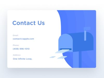 Contact Us - Day 028 dailyui