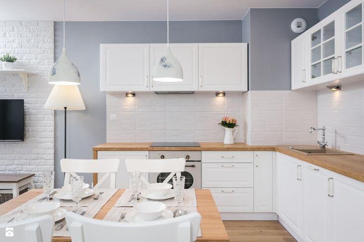 Kuchnia styl Prowansalski - zdjęcie od Justyna Lewicka Design - Kuchnia - Styl Prowansalski - Justyna Lewicka Design