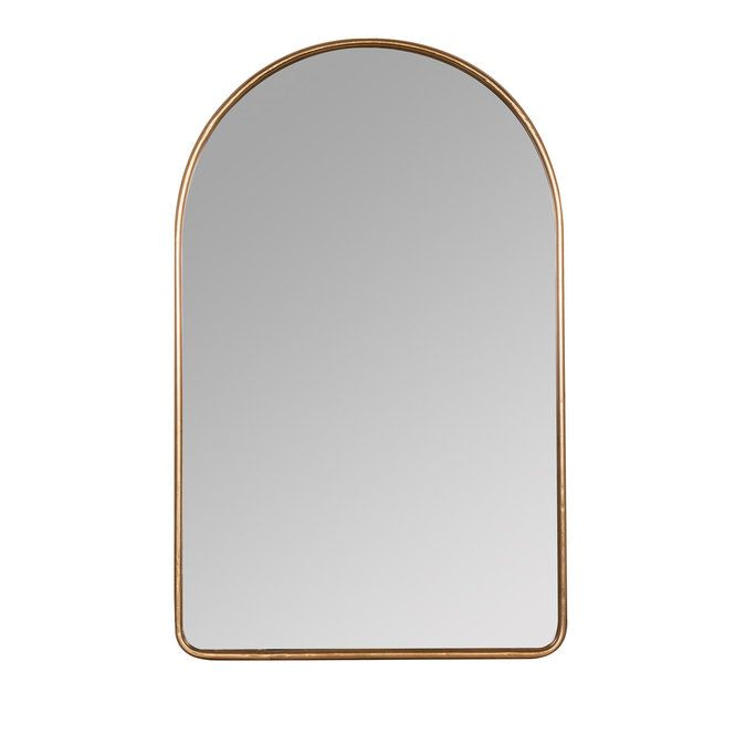 Simply Arched Mirror In 2020 Mirror Wall Gold Mirror Wall Mirror