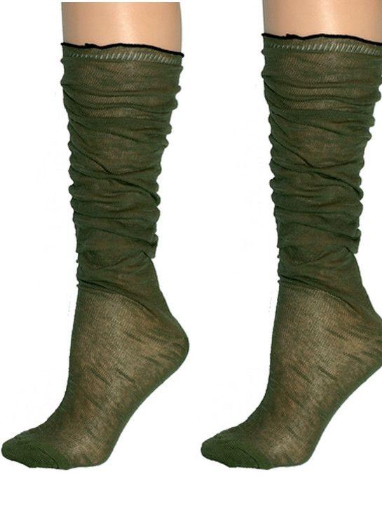 Western Slouch Socks