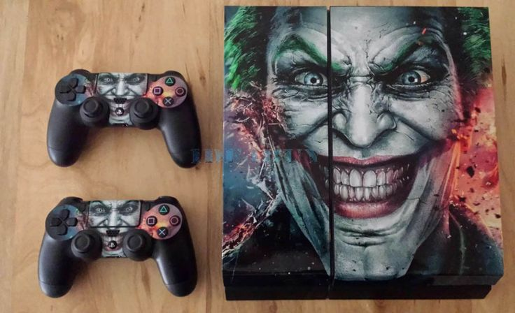 Custom Joker Sticker for Playstation 4 PS4 Console Controller Protector Skins #UnbrandedGeneric #Joker