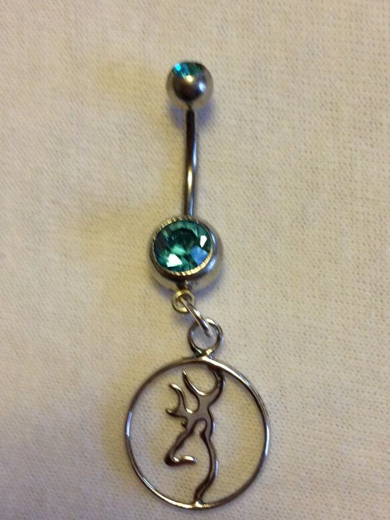 Browning Belly Ring by DeepSouth2013 on Etsy, $16.00