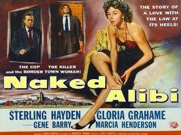 Sterling Hayden, Gloria Grahame, Gene Barry en La última coartada (1954)