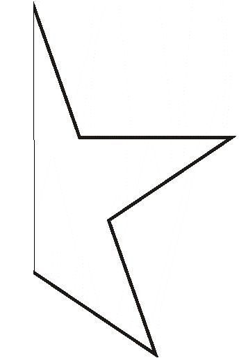 large star template - Google Search