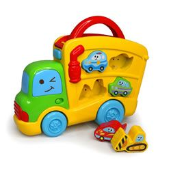 B Kids Sirens N Sounds Puzzle Truck