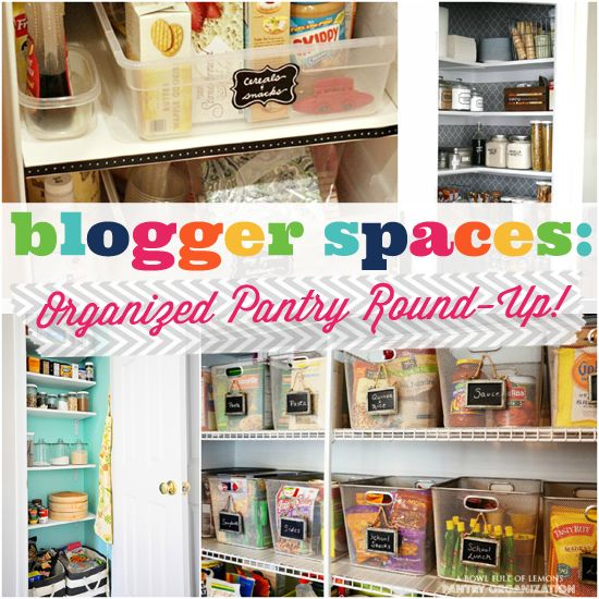 Organized Pantry And Pantry Tips: I Heart Organizing, Be Ready