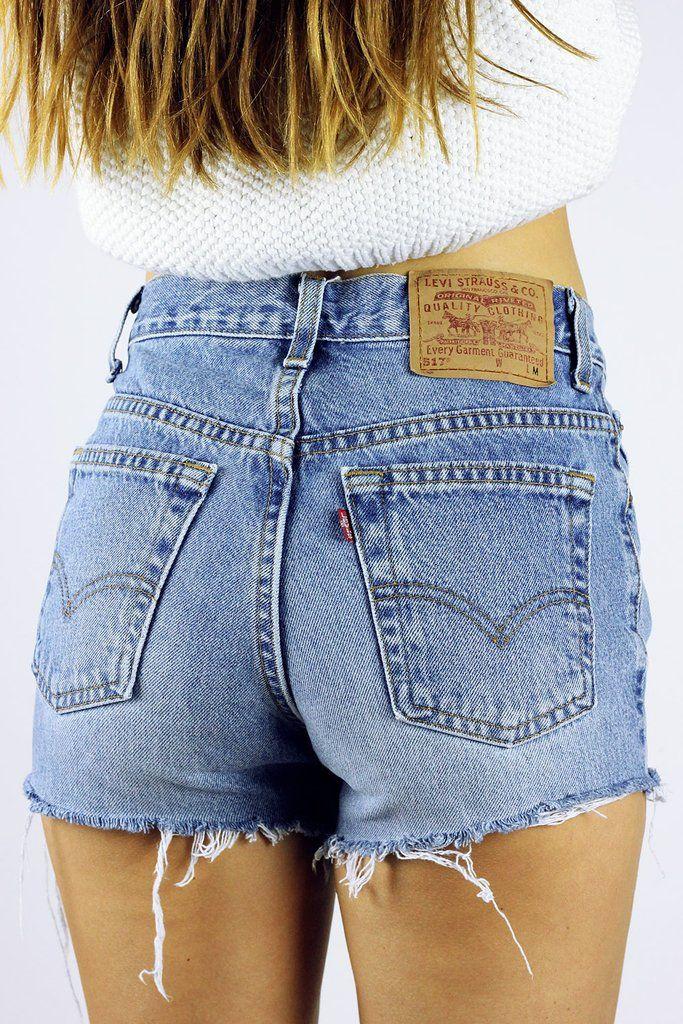 Vintage Cut Off Levi's Shorts S