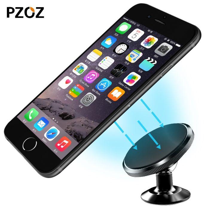3.59$  Know more - PZOZ Universal Car Phone Holder 360 Degree Magnetic Mobile Phone Holder For iPhone Samsung Magnet Mount Holder pop Stand socket   #bestbuy
