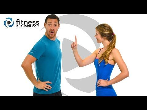 Day 1: Free 5 Day Workout Challenge for Busy People - HIIT Cardio + Butt & Thighs - YouTube
