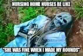 Nursing home humor