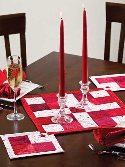 Heartfelt Table Runner Quilt Pattern Download From E