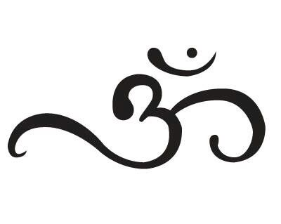 The yogic 'Om' sign - would make a nice tattoo…  just sayin'.