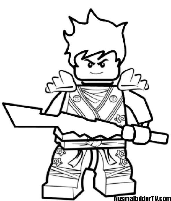 Ninjago Ausmalbilder Zum Ausdrucken Jungs Mädchen Ninjago